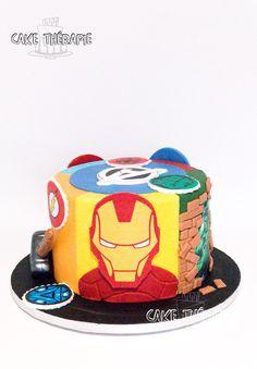 Buttercream Filling, Swiss Meringue Buttercream, Iron Man Birthday, Birthday Cupcakes, Custom Cakes, Amazing Cakes, Christening, Cupcake Cakes, Birthdays