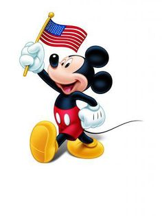 ~July 4 th. Disney Mouse, Mickey Minnie Mouse, Arte Disney, Disney Art, Disney Stuff, Cartoon Tv, Cartoon Characters, Disney Drawings, Cartoon Drawings