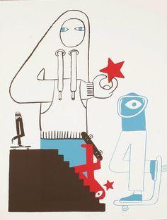 Geoff McFetridge on Pinterest | 97 Pins