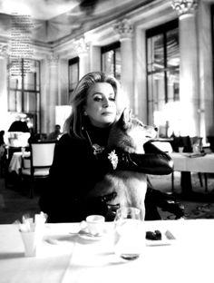 Catherine Deneuve by Dominique Issermann