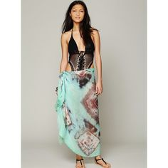 Free People Gauze Tie Dye Sarong for only $70 You save: $28.00 (29%)