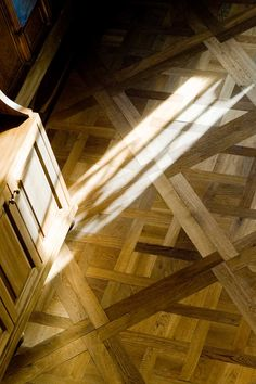 Versailles Panel; Express yourself to the full. From our Chapel Parquet Basilica Collection Wooden Floors