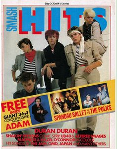 Smash Hits October 15 - 28, 1981 featuring Duran Duran.  I mean....  Hello 7th grade.