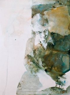 Watercolor Portraits, Watercolor Paintings, Figure Painting, Contemporary Art, To Go, Artsy, Abstract, Inspiration, Peeps