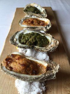 Emeril's Delmonico - Baked LA Oysters on the Half Shell