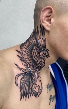 Mens Side Tattoos, Tribal Forearm Tattoos, Best Neck Tattoos, Neck Tattoos Women, Tribal Tattoos For Men, Back Of Neck Tattoo Men, Side Neck Tattoo, Nape Tattoo, Throat Tattoo