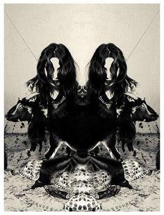 ghoulnextdoor:  Chelsea Wolfe by Darla Teagarden