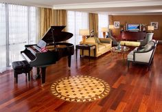 Piano players are always welcomed at our hotel!