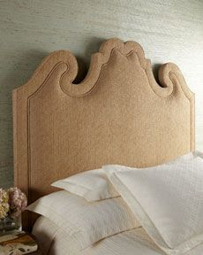 Shaped Upholstered Headboard