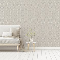 The latest addition the popular Milano range by Fine Decor comes this fantastic wave wallpaper Featuring an on-trend wave pattern finished in a subtle metallic tone on a hessian weave style background A heavyweight Italian wallpaper sure to add a touch of elegance to your room #wallpaperdepot #wallpaper #interior #interiordecor #interiordesign #diy #renovation #walldecor #wallart #bedroom #livingroom #kitchen #bathroom #home #homedecor #geometric #milano