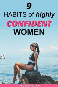 Are you looking for confidence advice and how to become a confident woman? Here are 9 habits of confident women and how to boost your confidence at work and in your personal life! How To Look Confident, Confident Woman, Building Self Esteem, Confidence Building, Life Goals, Relationship Goals, Self Confidence Tips, Successful Women, Happy Women