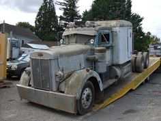 1952 Peterbilt classic 350 in need of some lovin-SR