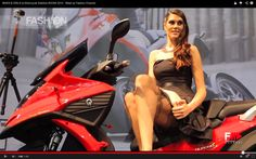 BIKES & GIRLS at Motorcycle Exibition EICMA 2014 with beautiful girls and amazing bikes...  this perfect combo is now on FASHION CHANNEL!!!