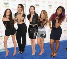 Fifth Harmony || Must-See Pics From the 2014 Teen Choice Awards | Twist