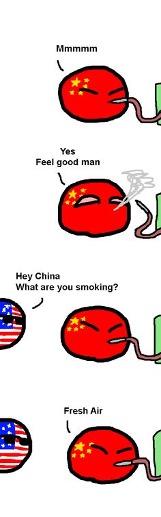 "When China try's the ""FreshAir""-Drug (America, China)"