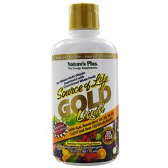 Nature's Plus, Source of Life, Gold Liquid, Delicious Tropical Fruit  Flavor, 30 fl oz (887.10 ml) New to iHerb? Use coupon code NWB338