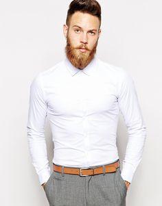 ASOS stretch shirt