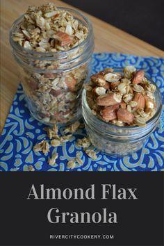 Almond Flax Granola