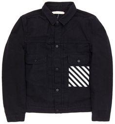 Off White, Denim Jacket (Black)