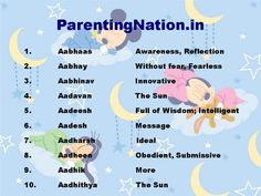 This Slide Contains Mesh Rashi Baby Boy Names With Meanings. List Of Beautiful Names For Your Lovely Baby Like Aadhik Mean More, Aadhithya Mean The Sun. Brought To You By ParentingNation. Celebrity Names, Celebrity Kids, Rare Names, Meaning Of Your Name, Sanskrit Names, Modern Names, Yoga Products, Pregnancy Advice, Boy Names