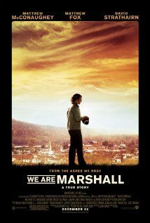 We Are Marshall - When a plane crash claims the lives of members of the Marshall University football team and some of its fans, the team's new coach and his surviving players try to keep the football program alive. (2006)
