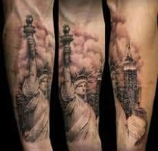 50 Best Statue Of Liberty Tattoo Images In 2018 Statue Of Liberty