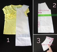 simple girl's sundress with flutter sleeves | sewing tutorial - It's Always Autumn