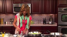 Stacy Pasoni's Sizzlin' Scallops with Zucchini Fettuccine - Julie & Friends