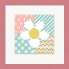 Beth Grove 'Baby Quilt II' Framed Wall Art