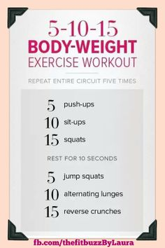 No equipment necessary!!  #easy #workout #healthy #challenge #pushyourself