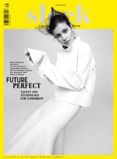 Larissa Hofmann by Benjamin Vnuk for Sleek Magazine Fall Winter 2013-2014