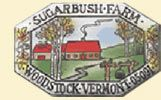 Sugarbush Farm. The Sugarbush Farm family is famous for its excellent waxed cheeses and Pure Vermont Maple Syrup made here on our hillside farm.