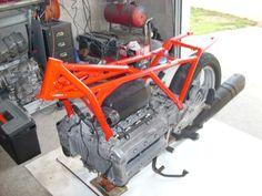 bmw k100 cafe racer | BMW K100 café racer - nb-pieces-moto.com