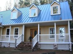 Metal Roofs For Houses Colors Building With Metal Roof