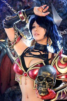Akasha - Queen of Pain - Tasha Cosplay