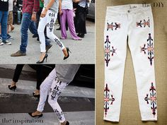 DIY ISABEL MARANT RENELL JEANS