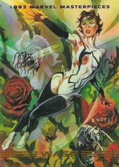 Wasp 1993 Marvel Masterpieces