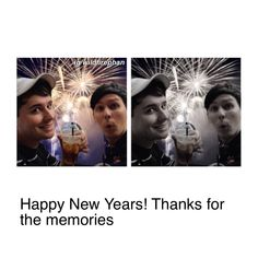 thank you to dan and phil for making me happy this year, and thanks to all the friends i've made through them! i love you all!