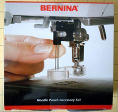 Bernina Needle Punch Accessory Set by oneygirl on Etsy, $69.95