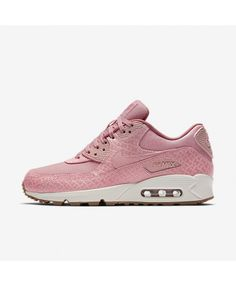 b8c2a622fcae9 Nike Air Max 90 Premium Sail Red Stardust Pearl Pink Womens Cheap Sale Nike  Air Max