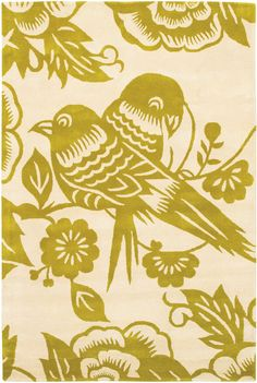 Thomas Paul Lovebirds Corn-Cream Rug from the Thomas Paul Rugs collection at Modern Area Rugs