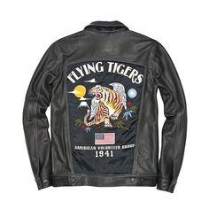 Flying Tigers Trucker Souvenir Jacket