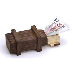 Eine magische Geschenkbox mit Knobbelspaß. Perfekt für Geldgeschenke zur Hochzeit, Taufe oder anderem Geschenkanlass. Geld in die edle Holz-Box legen, Box verschenken und warten, bis der Beschenkte es geschafft hat, Sie zu öffnen. Ideal für Geldgeschenke zur Hochzeit.