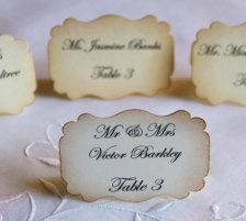 Wedding Place Cards, Table Cards & Escort Cards - Page 10 - Etsy