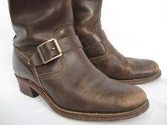 LIKE A NUDE (VINTAGE CHIPPEWA ENGINEER BOOTS) : LAST OLD