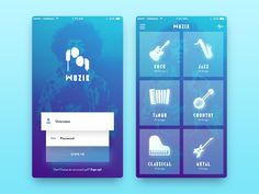 Muzik App Concept