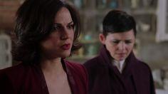 "Season 2 finale ""And Straight On Till Morning"" screen capture... Regina & Mary M."