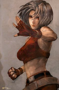 Blue Mary - King of Fighters/ Fatal Fury
