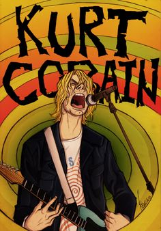Find images and videos about rock, nirvana and kurt cobain on We Heart It - the app to get lost in what you love. Kurt Cobain Art, Nirvana Kurt Cobain, Rock And Roll, Rock Bands, Nirvana Art, Nirvana Songs, Arte Punk, Mode Rock, Donald Cobain