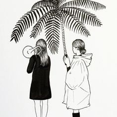 brass warm up . . . #brass#girls#trombone#palmtree #브라스#트럼본#소녀#야자수 (inspired by - check the accounts in pic)